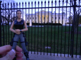 Jolie White House Fence 2